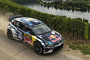 WRC Leg report Germany WRC: Ogier closes on victory, Sordo into second