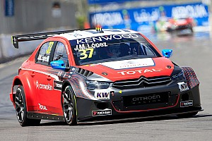 WTCC Race report Podium spots for López and Muller in Marrakech