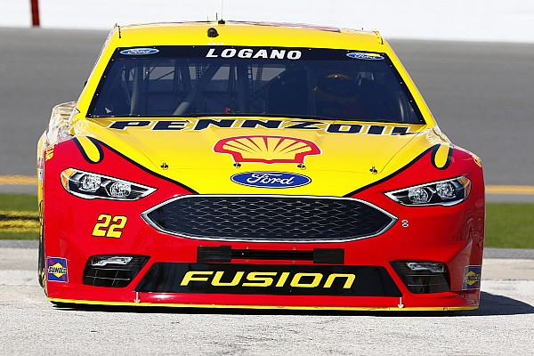 NASCAR Sprint Cup Practice report Penske teammates draft their way to the top of second 500 practice