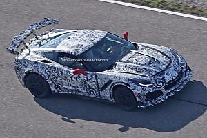 Auto Actualités Spyshots - La Corvette C7 ZR1 se montre