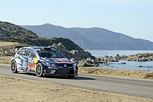 WRC Leg report Corsica WRC: Ogier on brink of fourth title with victory