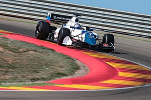 Formula V8 3.5 Qualifying report Aragon F3.5: Orudzhev beats Deletraz to pole by 0.013s