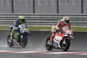 MotoGP Breaking news Iannone regrets not settling for third after Honda crashes