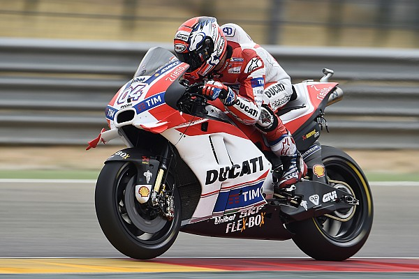"""MotoGP Dovizioso """"really frustrated"""" by """"disaster"""" Aragon race"""