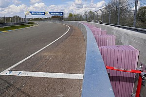 Le Mans Breaking news Le Mans hosts European debut of SAFER barrier this weekend