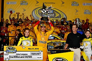 NASCAR Sprint Cup Analysis Five things we learned from Joey Logano in the All-Star Race