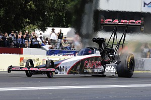 NHRA Qualifying report Torrence, Capps and Line sprint to No. 1 qualifiers at Thunder Valley Nationals