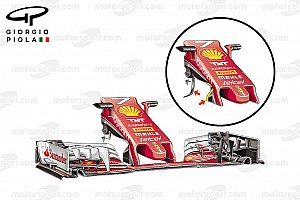 Formula 1 Analysis Tech analysis: How Ferrari caught up with Red Bull in Japan