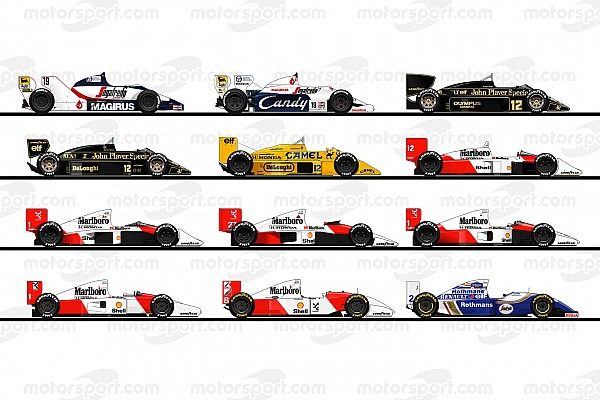 Formula 1 Rediscover the cars of Ayrton Senna's F1 career