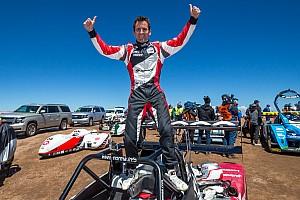 Hillclimb Race report Romain Dumas historic two-time winner at Pikes Peak !