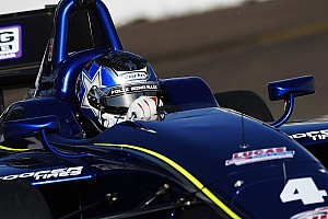 Indy Lights Race report Serralles inherits St. Pete win after disaster strikes Veach