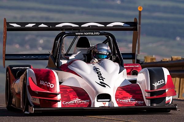 Hillclimb Practice report Romain Dumas refines settings for Pikes Peak