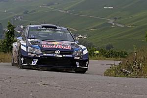 WRC Leg report Germany WRC: Ogier takes the lead as crash halts rally