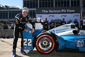 IndyCar Qualifying report Pagenaud beats Power to pole at Barber
