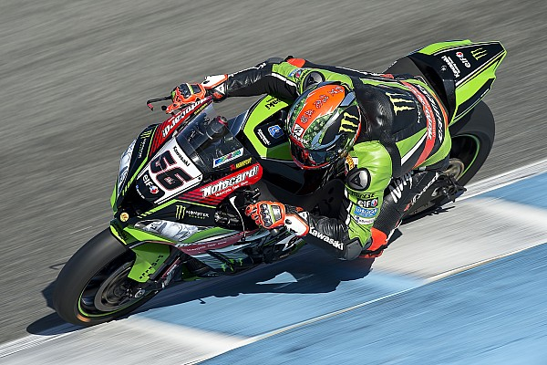 World Superbike Practice report Sykes first man through to Tissot-Superpole 2