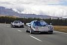 Auto Une McLaren F1 accidentée en Nouvelle-Zélande