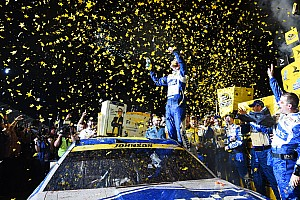 NASCAR Sprint Cup Breaking news Jimmie Johnson wins historic seventh NASCAR Sprint Cup championship