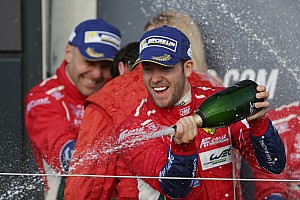 WEC Special feature Sam Bird: That special first win with Ferrari