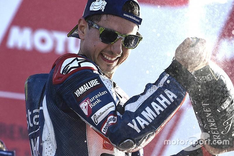 "【MotoGPバレンシア】ロレンソ、最終戦の勝利をヤマハに""プレゼント"""