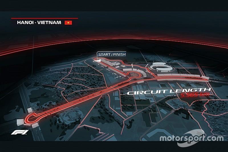 Fórmula 1: Vietnam será parte la temporada 2020