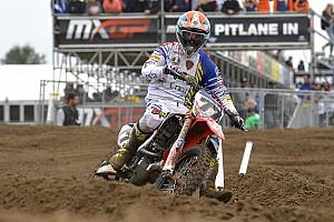 Mondiale Cross MxGP Ultime notizie Inferno di sabbia per Alessandro Lupino a Lommel