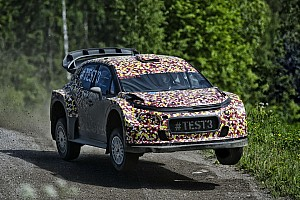 WRC Testing report The development of the 2017 World Rally car accelerates in Finland