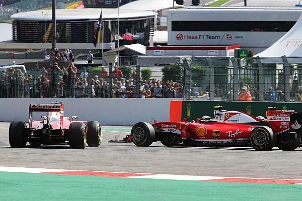 Formula 1 Breaking news Vettel blames Verstappen for first-corner crash