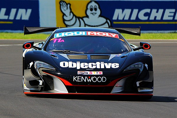 Endurance Practice report Bathurst 12 Hour: Objective McLaren breaks practice record