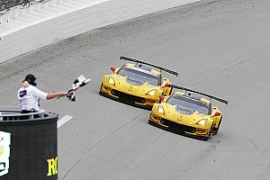 IMSA Breaking news Corvette photo finish: