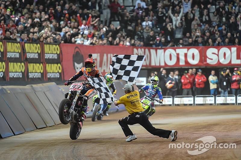 マルク・マルケス、スペインのダートトラックイベントで優勝を果たす