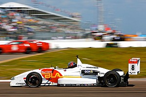 USF2000 Qualifying report Martin edges tight battle for pole at IMS