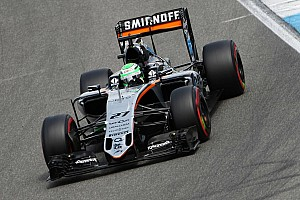 Hulkenberg handed grid penalty for tyre error