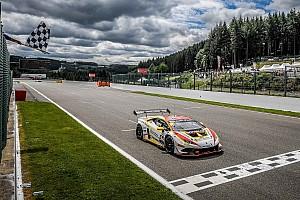 Lamborghini Super Trofeo Gara Kujala e Amstutz si impongono anche in Gara 2 a Spa-Franchorchamps