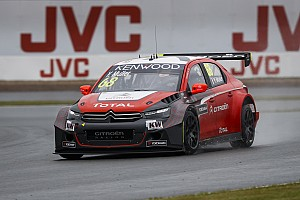 WTCC Race report Yvan Muller picks up podium place in rainy Russia