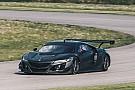 讴歌NSX GT3赛道测试 筹备新赛季
