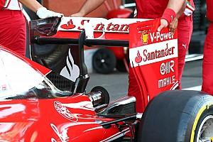 Bite-size tech: Ferrari rear wing change for qualifying