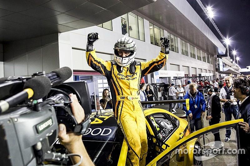 Qatar WTCC: Tarquini wins opening race in Lada's final weekend