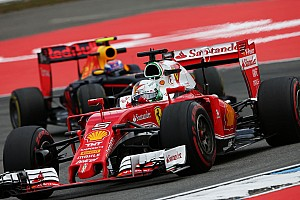 "Formula 1 Breaking news Vettel: Ferrari ""not here to finish fifth and sixth"""