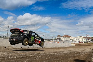 World Rallycross Leg report Canada WRX: Solberg keeps top spot as qualifying concludes