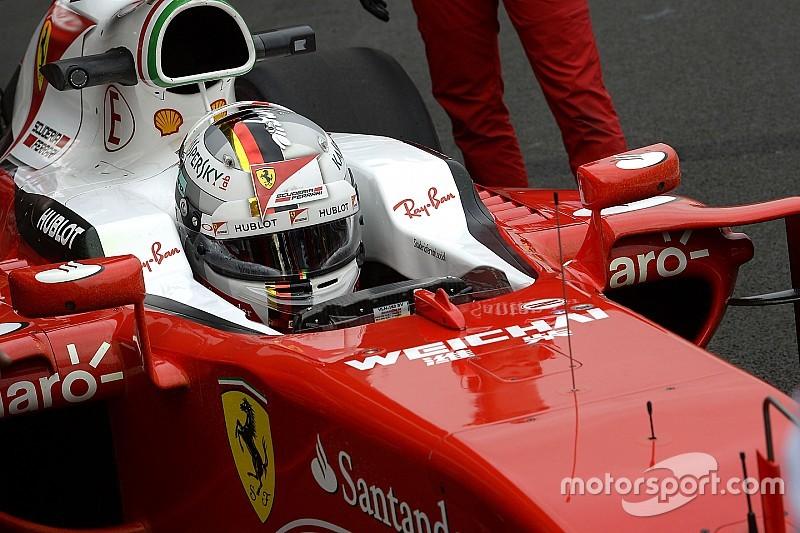 Ricciardo: Vettel's radio moaning now