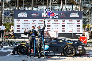 IMSA Race report Corvette Racing at Long Beach: Second straight overall win for Wayne Taylor Racing