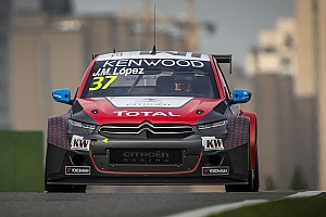 WTCC Race report Shanghai WTCC: Lopez wins as Bennani secures independents' title