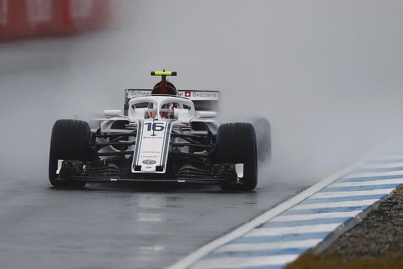 Germania bagnata, Leclerc il più rapido delle libere3