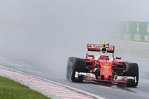 Formula 1 Breaking news Ferrari drivers call for better wet tyres