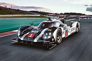 WEC Breaking news Porsche unveils 2016 LMP1 challenger