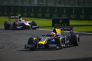 GP2 Breaking news Seven GP2 drivers penalised for early DRS use