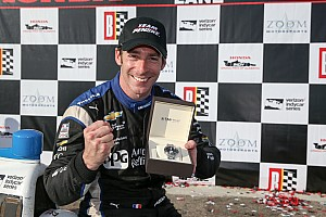 IndyCar Interview Last year's hard work is paying off now, says Pagenaud