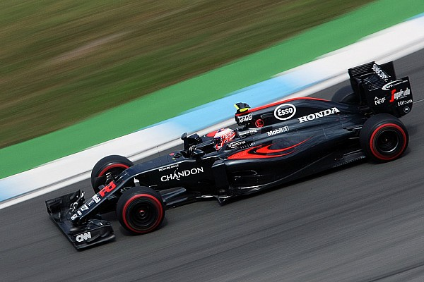 Formula 1 Button gets new power unit components for race
