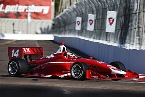 Indy Lights Practice report Rosenqvist tops first Indy Lights practice