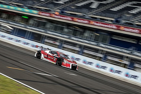 Audi R8 LMS Cup Buriram Audi R8 LMS Cup: Mixed results for Patel